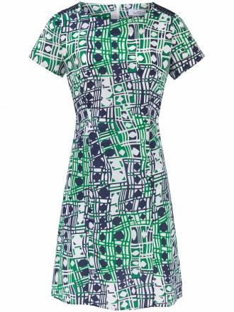 Kleid 1/2-Arm und modisch taillierten Schnitt Looxent mehrfarbig
