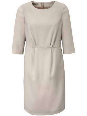 Kleid Fältchen im Vorderteil Uta Raasch silber