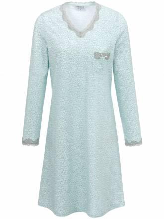 Sleep-Shirt 1/1 Arm und Details in Spitze Ringella mehrfarbig