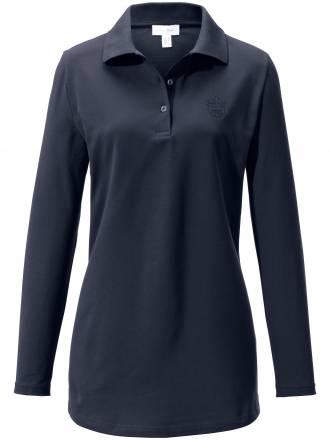 Polo-Shirt Modell ANDREA Peter Hahn blau Größe: 40/42