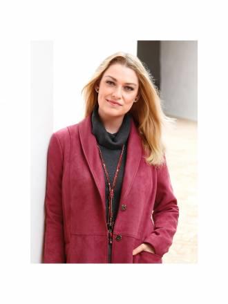 Kette in toller, herbstlicher Farbigkeit Anna Aura rot