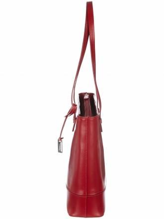 Tasche aus Nappaleder L. Credi rot
