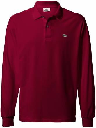 "Polo-Shirt – ""Form L1312´´ 1/1 Arm Lacoste rot"