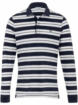 "Polo-Shirt ""Form PH7128´´ maskulinen Streifen Lacoste blau"