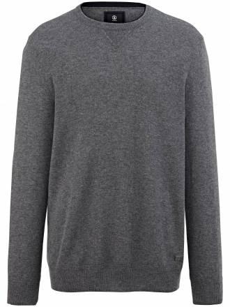 Rundhals-Pullover Bogner grau Größe: 54