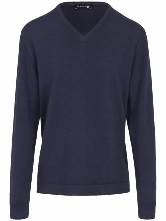 Pullover im modernen, lässigen Style Louis Sayn blau