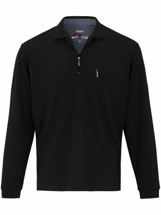 "Polo-Shirt 1/1 Arm und ""Stay fresh´´ HAJO schwarz"