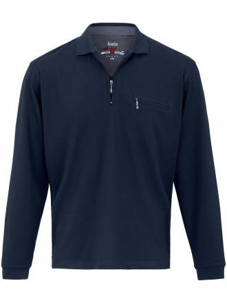 """Polo-Shirt 1/1 Arm und """"Stay fresh´´ HAJO blau"""
