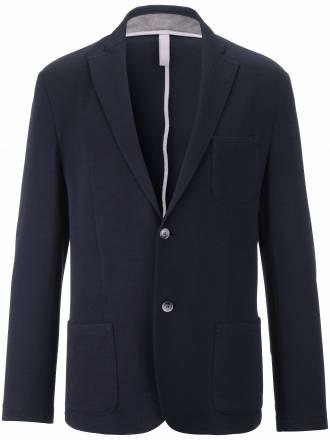 Jersey-Blazer aufgesetzten Taschen Bogner blau Größe: 25