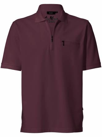 "Polo Shirt 1/2 Arm ""Stay fresh´´ HAJO rot"