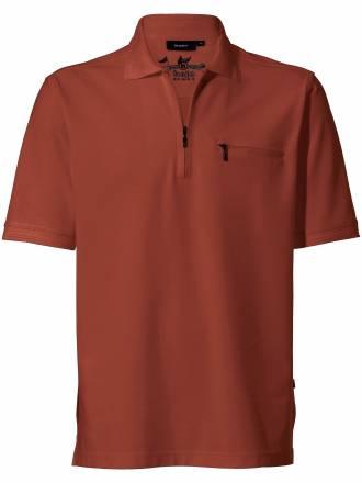 "Polo Shirt 1/2 Arm ""Stay fresh´´ HAJO braun"