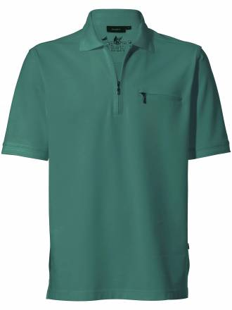 "Polo Shirt 1/2 Arm ""Stay fresh´´ HAJO grün"