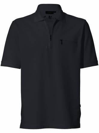 "Polo Shirt 1/2 Arm ""Stay fresh´´ HAJO schwarz"