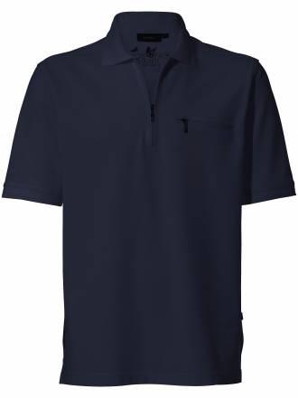"""Polo Shirt 1/2 Arm """"Stay fresh´´ HAJO blau"""