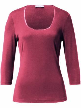 Rundhals-Shirt 3/4-Arm Uta Raasch pink