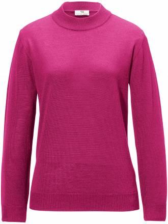 Pullover in SETALANA BIELLA YARN Peter Hahn pink