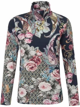 Shirt Rollkragen und in schmaler Form Efixelle mehrfarbig