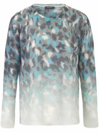 Pullover in legerer Form und Seitenschlitzen Basler mehrfarbig