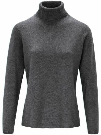Pullover in leicht taillierter Form include grau