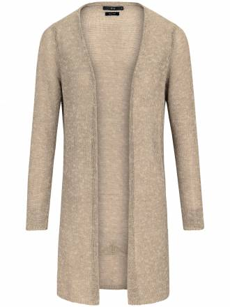 Long-Strickjacke Brax Feel Good beige
