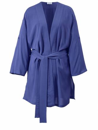 Jacke in Oversize-Form Angel of Style kornblumenblau