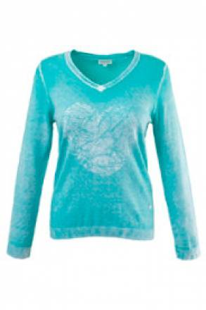 Gina Laura Pullover in neuartiger ´´´´Inside-Out´´´´-Optik