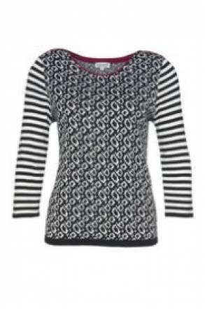 Gina Laura Pullover, Mustermix, 3/4-Arm