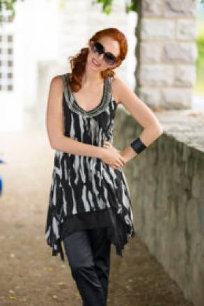 Gina Laura Blusenkleid