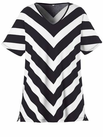 Shirt Sara Lindholm schwarz-weiß