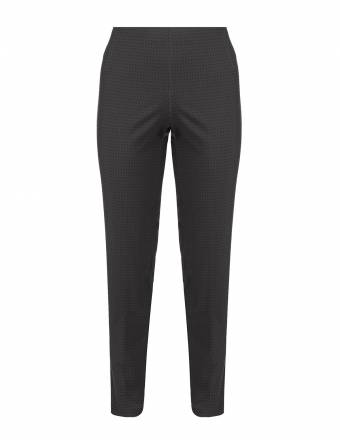 Allover-Muster-Hose mit Comfort-Stretch
