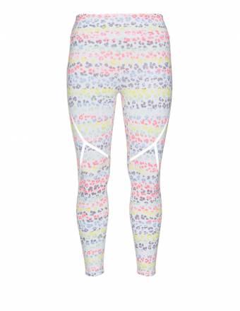 Multicolour-Leggings mit Animal-Print