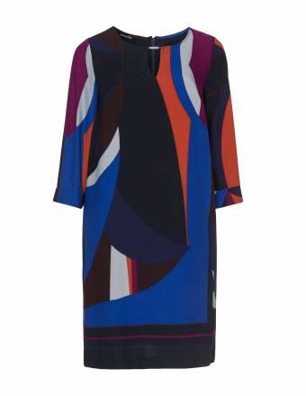 Colour-Blocking-Kleid