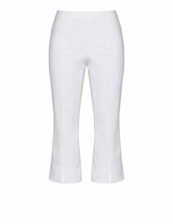 Wadenlange Hose aus Comfort-Stretch