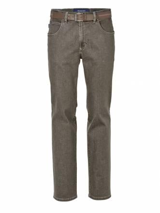 Jeans mit Gürtel Pionier Khaki