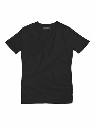 V-Shirt bread boxers Black