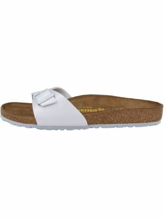 Birkenstock Sandale Madrid Birko-Flor Graceful normal Birkenstock silber