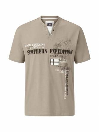 Jan Vanderstorm T-Shirt GOESTA Jan Vanderstorm Beige