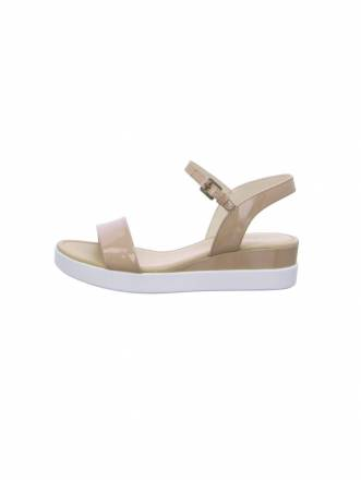 Sandalen/Sandaletten Ecco beige