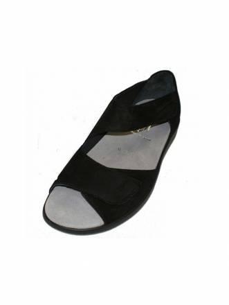 Sandalen/Sandaletten Semler schwarz