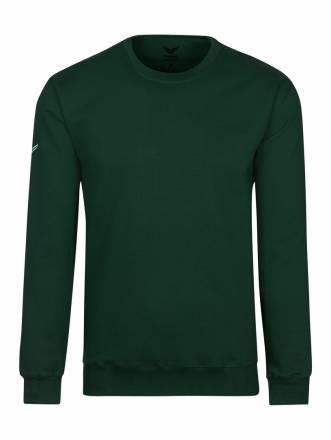 Damen Sweatshirt aus Biobaumwolle Trigema tanne-C2C