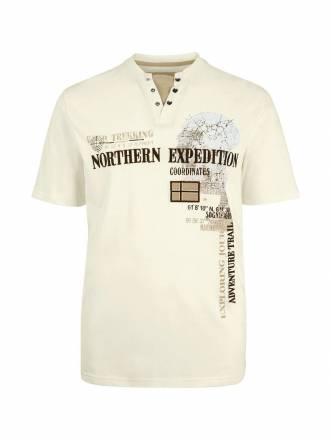 Jan Vanderstorm T-Shirt GOESTA Jan Vanderstorm Weiß