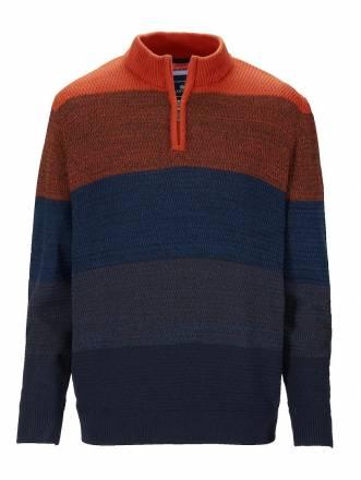 Pullover BABISTA orange-blau