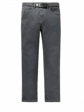 Jeans mit Gürtel Pionier Grau