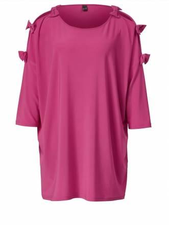 Shirt  in Oversize-Form YOEK Pink