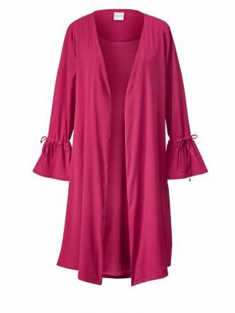 Long-Jacke Junarose pink