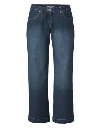 Flare Cut Jeans Nora Dollywood Dunkelblau