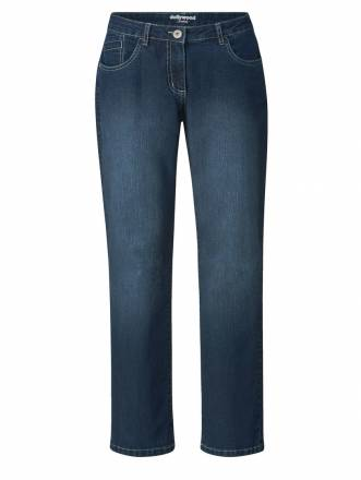 Straight Cut Jeans Stella Dollywood Dunkelblau