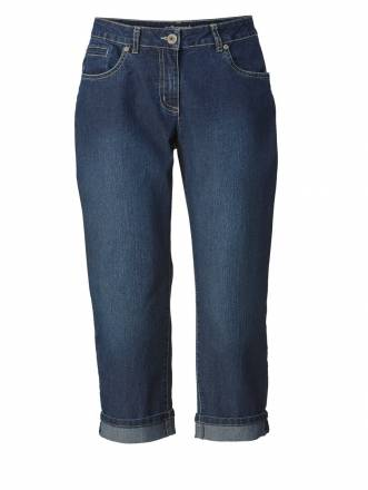 Straight Cut Jeans Amy Dollywood Blau