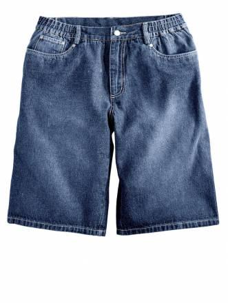 Jeans-Bermuda Men Plus blue stone