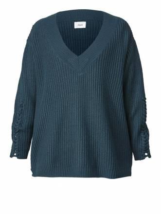 Pullover Zizzi Blau